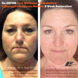 e3 Energy Evolved Member 8 Week Progress Before After_PMiller