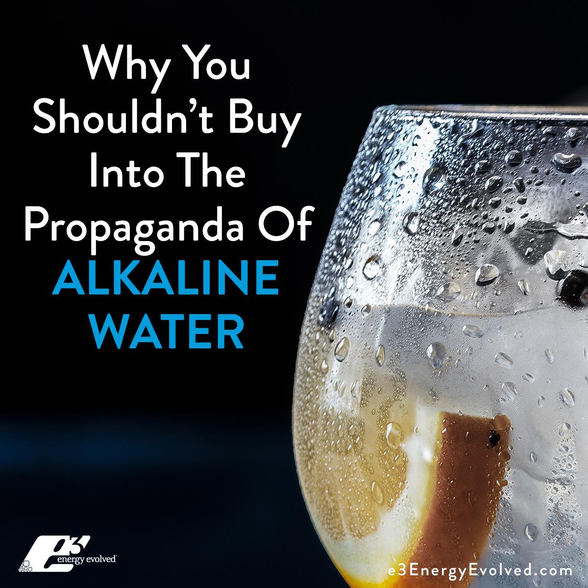 water, alkaline water, pH, alkalinity, nutrition