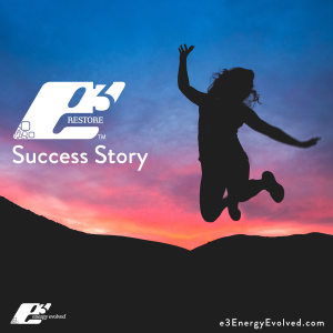 e3 Energy Evolved, e3 Restore, Restoration, Success Story, Case Study, Testimonial, Thyroid Wellness, Thyroid Weight Loss, Thyroid Diet, Adrenal Fatigue, Functional Nutritionist, Functional Medicine Practitioner, Functional Nutrition, Metabolism, Metabolic Health